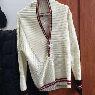 印安風針織毛衣
