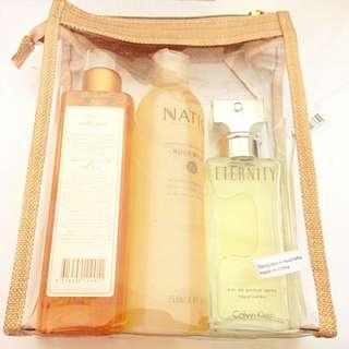 Natio Wellness Bundle + CK Perfume