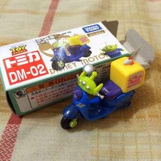 (保留)日本帶回 三眼怪摩托車