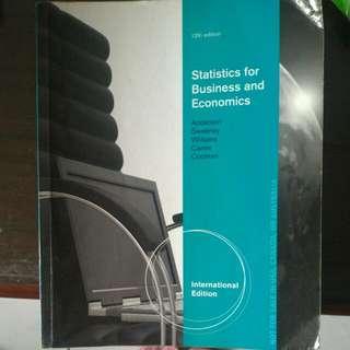 保留中[統計]Statistics For Business And Economics