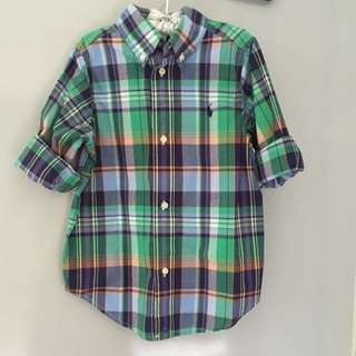 POLO RALPH Checkered Shirt