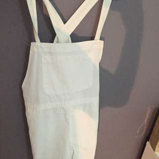 White Overalls From the Iconic