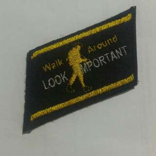 SALE❗Singlish Morale Patches