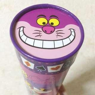 東京迪士尼 愛麗絲夢遊仙境 妙妙貓 時間兔 餅乾 巧克力 紙盒 收藏變賣