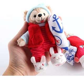 Duffy 熊熊吊飾 睡衣款