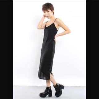 Younghungryfree/YHF Bond Girl Dress in Black