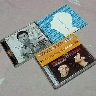 CD Andy Hui 许志安 Assorted Music CDs