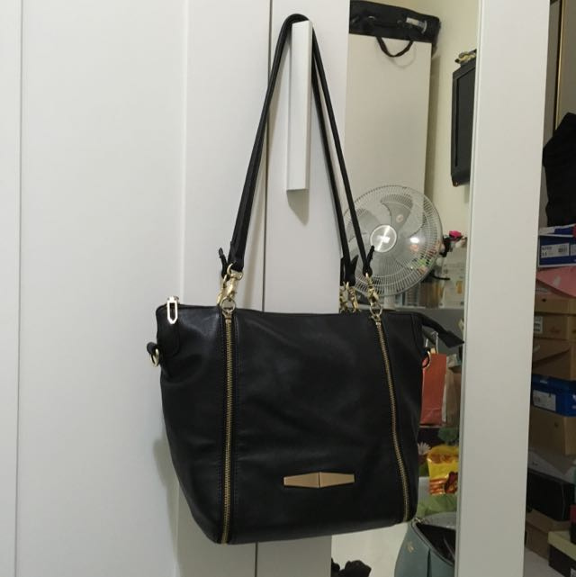 韓國雙拉鍊包包