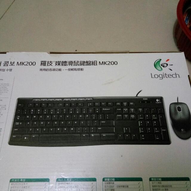 羅技無限滑鼠鍵盤