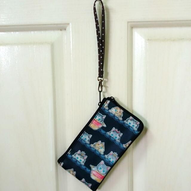 小貓咪手機零錢袋