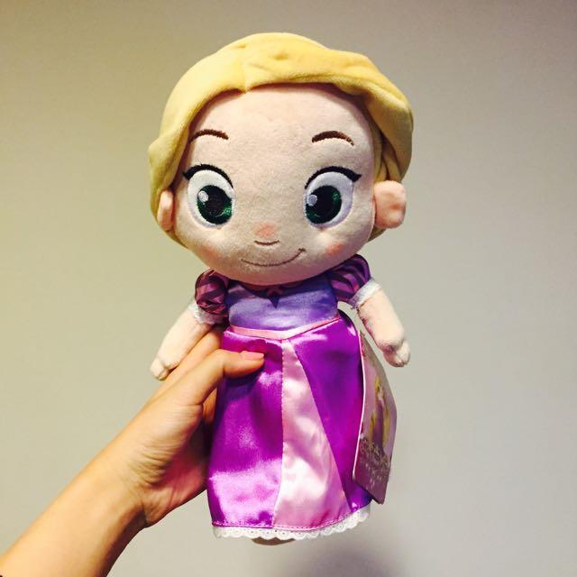 全新美國迪士尼長髮公主娃娃