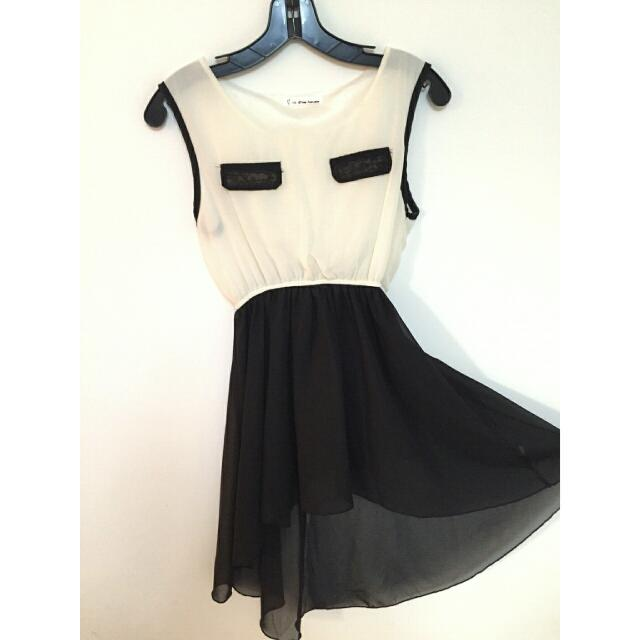 氣質💕前短後長小洋裝(含運)