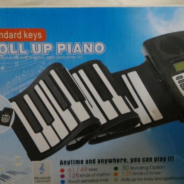 軟鍵式電子琴