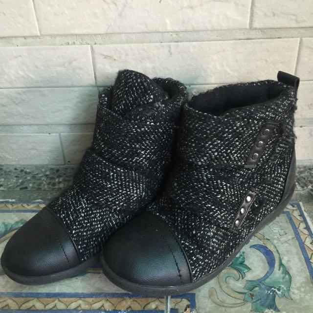 正韓➰內增高短靴 24
