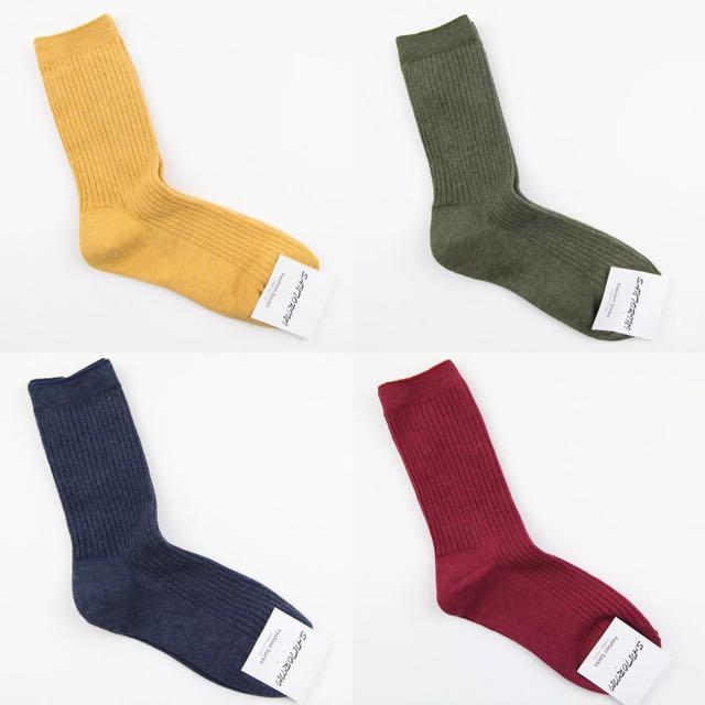 超好穿韓國襪襪 8色