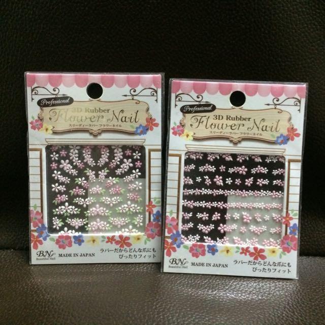 日本製 指甲貼 2張