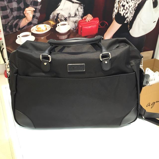 降價 Agnes' b 全新 日本帶回 小型旅行袋 公事包