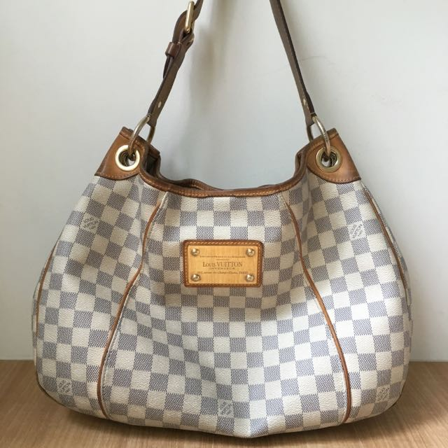 Authentic Louis Vuitton Damier Leather Handbag