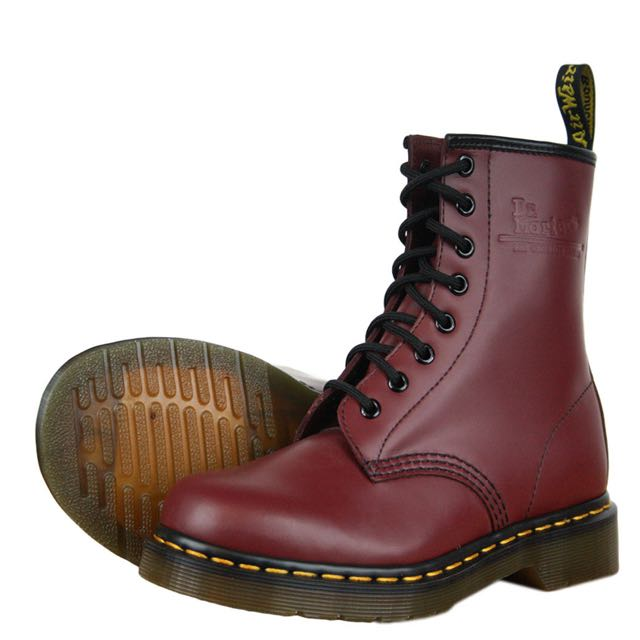 Dr Martens Cherry Red 1460 UK4