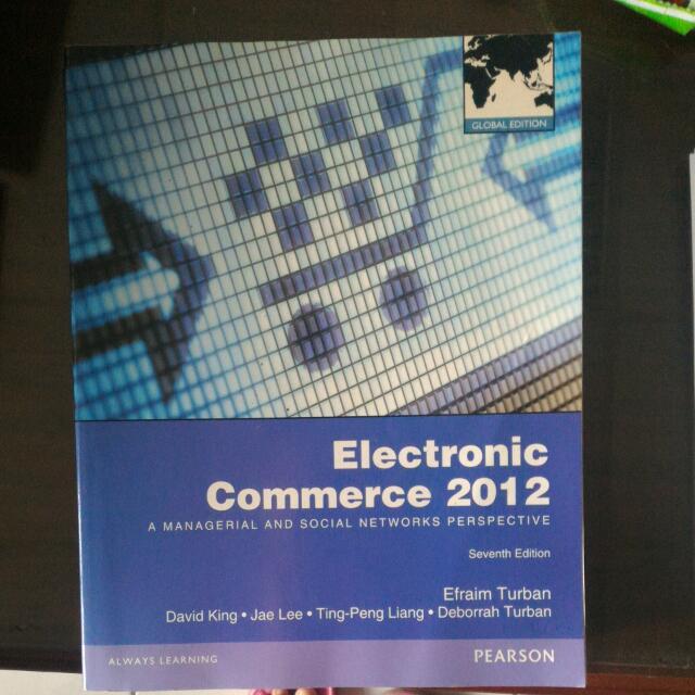 [電子商務]Electronic Commerce 2012