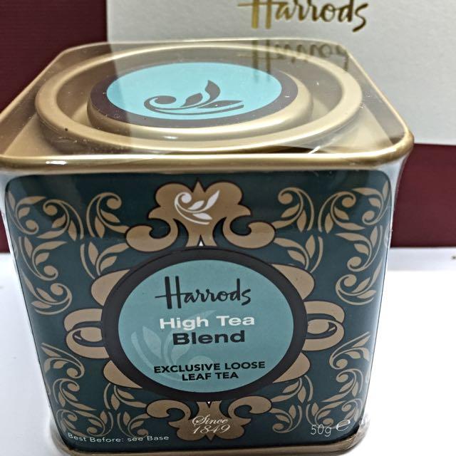 Harrods 莊園綜合晚餐茶(大吉嶺+伯爵紅茶) 英國百年老牌