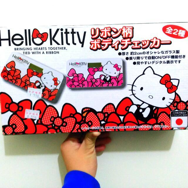 Hello Kitty 電子體重機