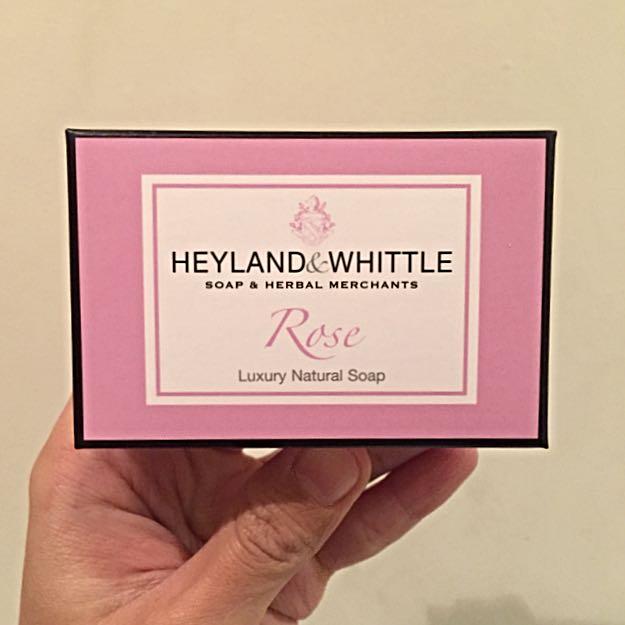 H&W英倫薇朵 英倫玫瑰手工香氛皂(95g)