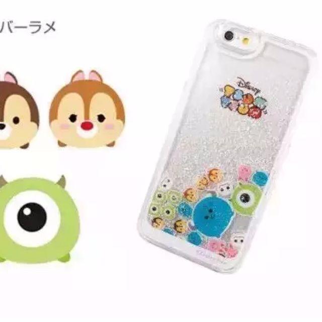 iphone6/6s 超可愛TsumTsum/怪獸電力公司/毛怪/大眼怪/液體流動手機殼