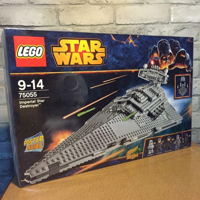 LEGO Star Wars 75055 IMPERIAL STAR DESTROYER 1359 pieces ...