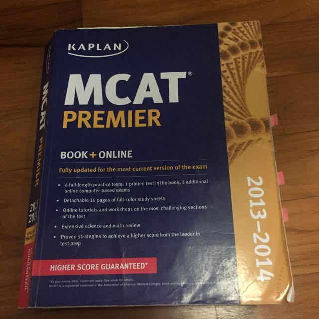 MCAT Kaplan 2013-2014