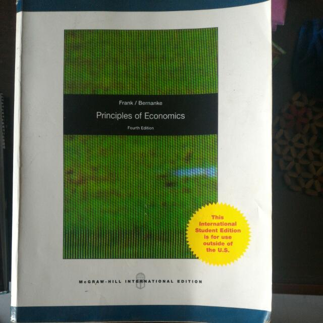 [經濟]Principles Of Economics