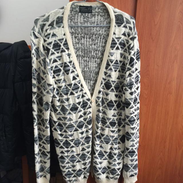Pull & Bear 長版針織外套
