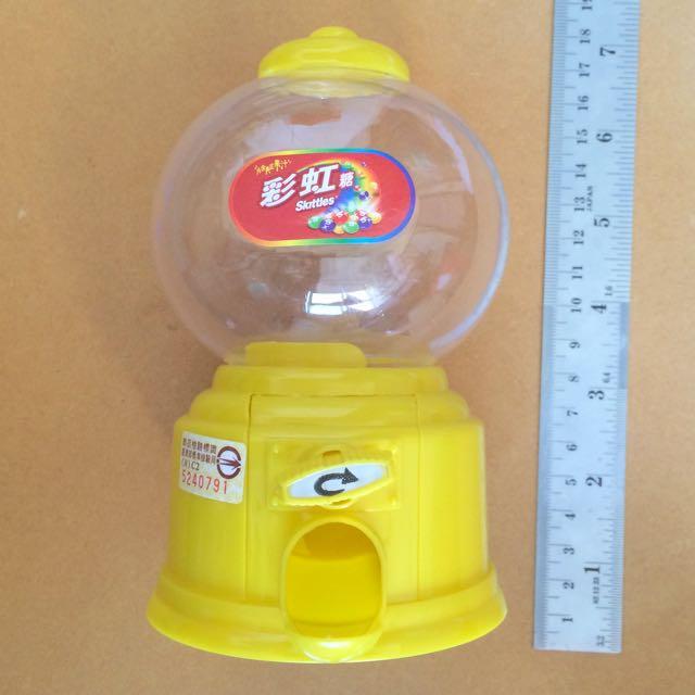 Skittles彩虹糖扭蛋機