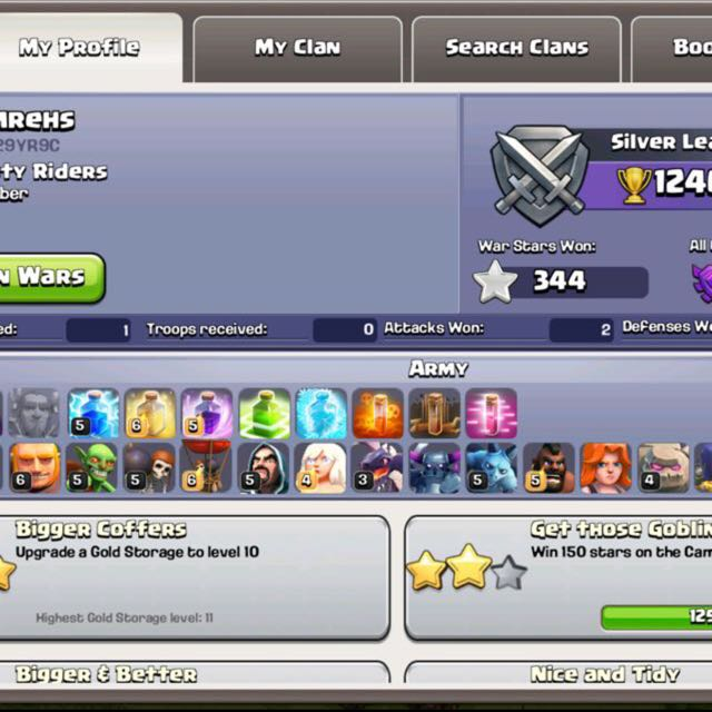 TH 9 Clash Of Clans COC, Toys & Games on Carousell