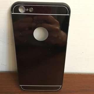 i6s plus金屬手機殼,黑色~