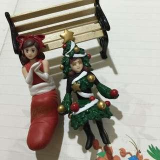 聖誕版杯緣子- 聖誕樹+聖誕襪 合售免運
