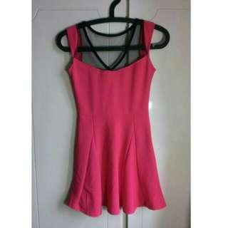 🎐桃紅小洋裝