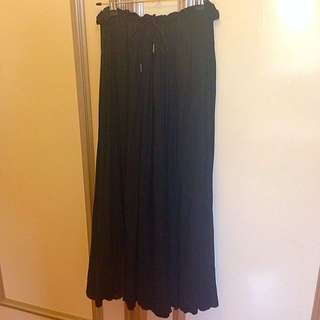 Black Sportsgirl Maxi Skirt