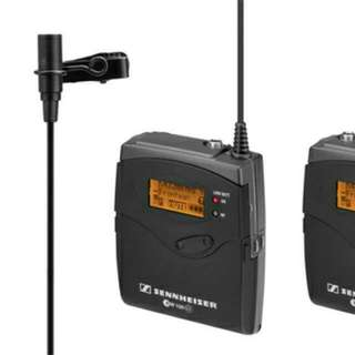 Sennheiser Wireless G3 Mic Set