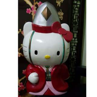 Large Hello Kitty Coin Bank from Japan