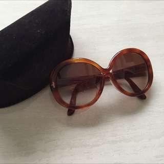 Tom Ford琥珀色墨鏡-9成新(原價近2萬)