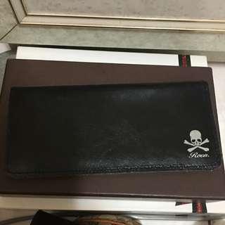 日本帶回簡易皮革材質長錢包