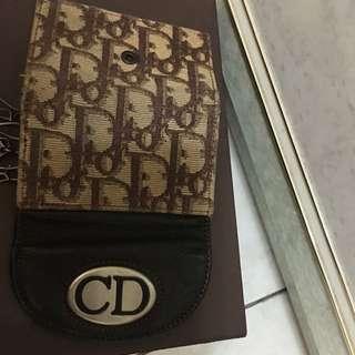 真品Dior飛行款鑰匙包