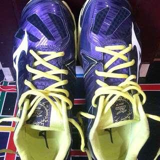 Mizuno RX3 Wave Lightning Purple Yellow
