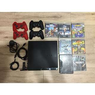 (reserved) PS3 320GB/ 4 Controllers/ 6 Games & Accessories