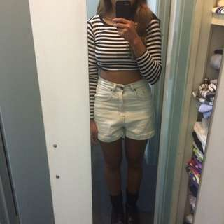 DR DENIM Washed Out Shorts!!