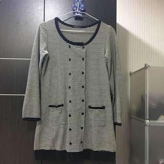 (二手)棉質長版上衣