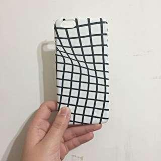 iPhone6 經典彎曲格紋手機殼