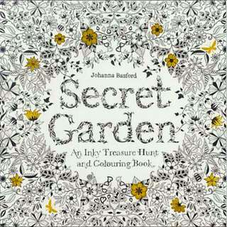 RESERVEDNew Secret Garden Colouring Book
