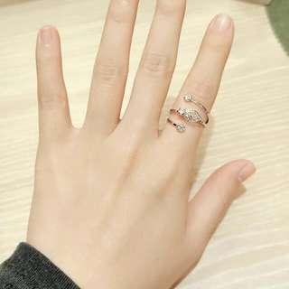 正韓 戒指 葉子鑽款